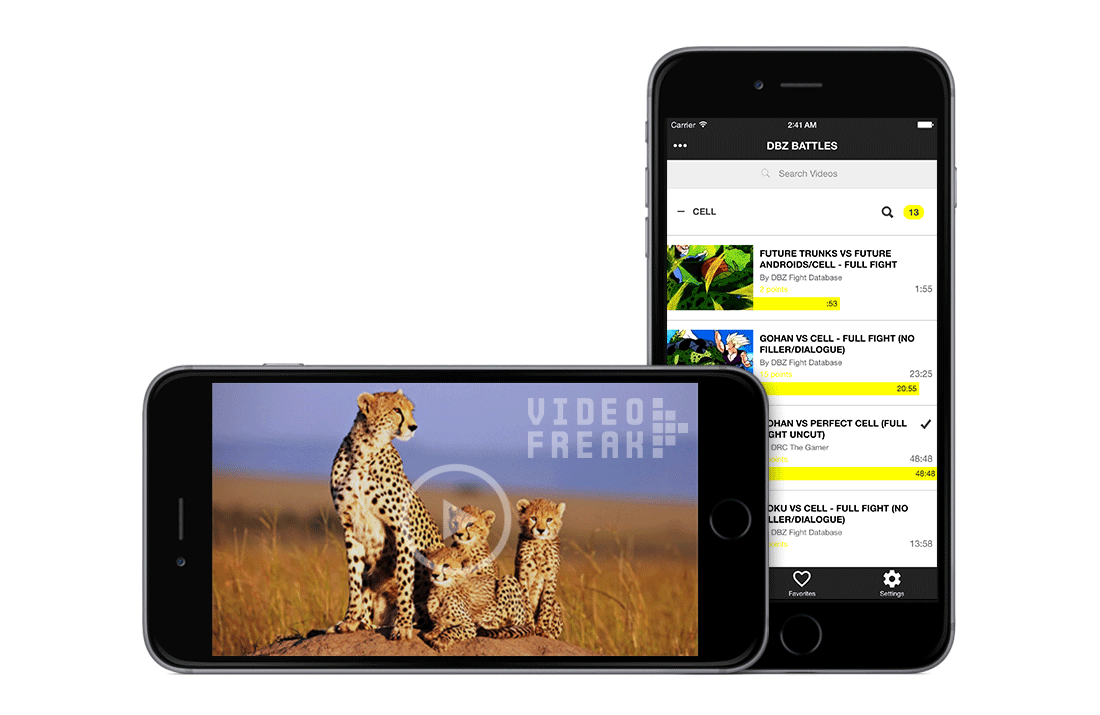 VideoFreak Ionic Native App